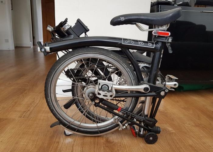 Brompton folding bike - 2