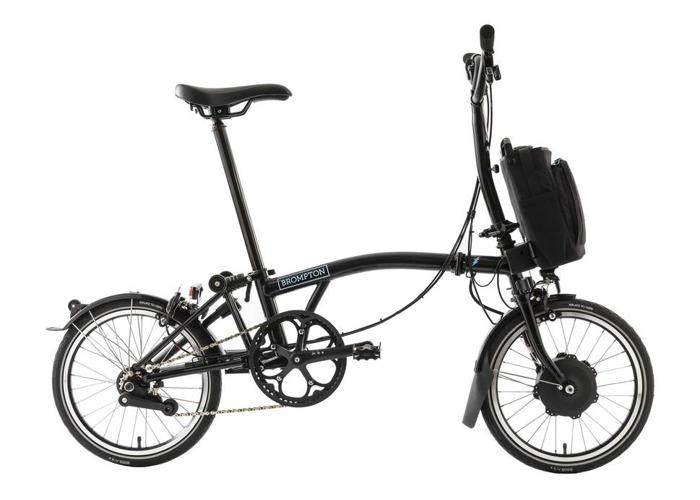 Brompton M6L 2020 Electric Folding Bike with city bag - 2