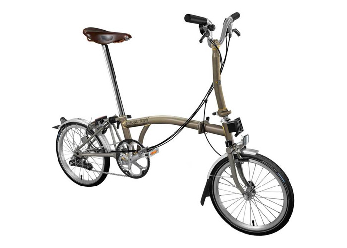 Brompton M6L Super Light 2019 Folding Bike - 1