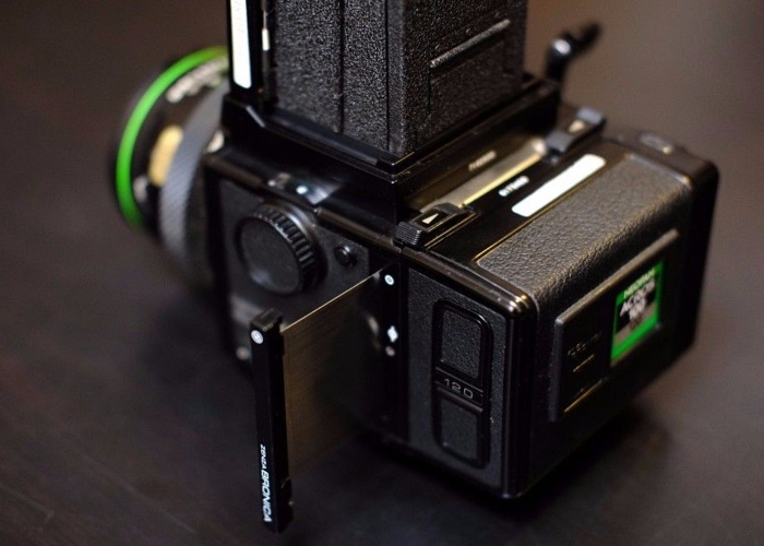 Bronica ETRS 120mm Camera Kit with Additional Metered Prism  - 1