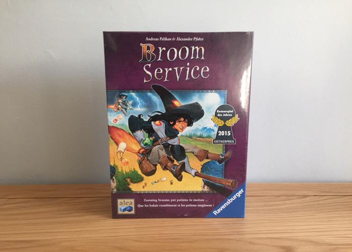 Broom Service Board Game - 1