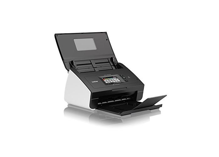 Brother ADS-2600WE Networked Desktop Document Scanner - 1