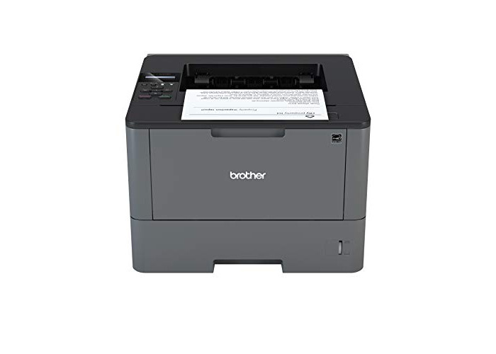 Brother HL-L5000D A4 Mono Laser Printer, PC Connected, Print and Duplex 2 Sided Printing - 1