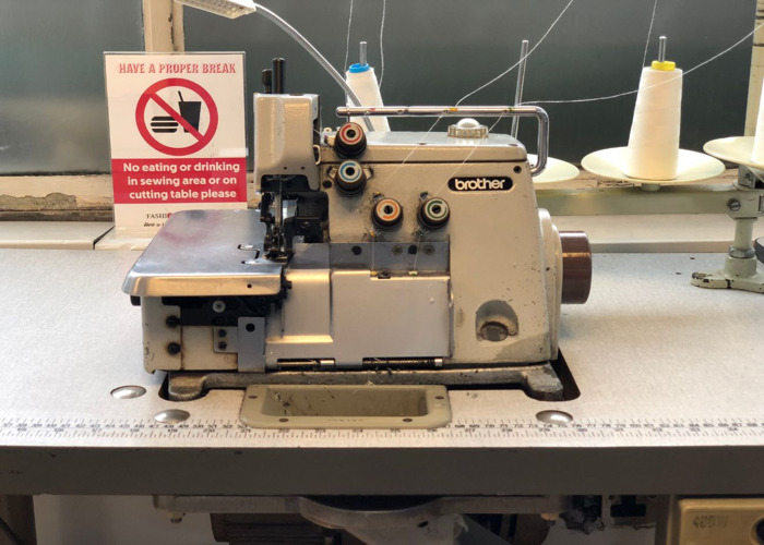 Rent Brother Industrial 4040 Thread Overlocker Sewing Machine Fat Llama Delectable Brother Industrial Overlock Sewing Machine