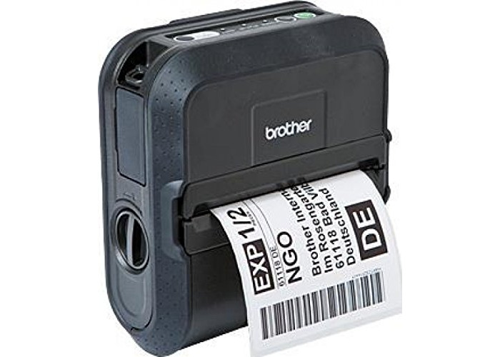 Brother RJ-4040 4 inch Rugged Mobile Printer with Wireless Connectivity - 1