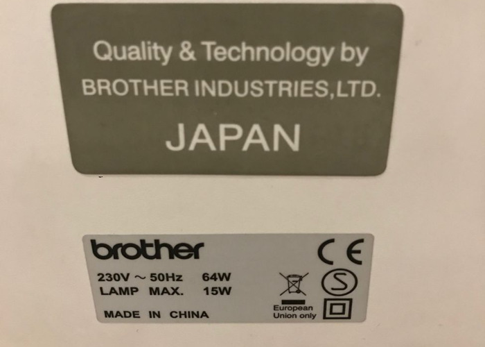 Brother sewing machine - 2