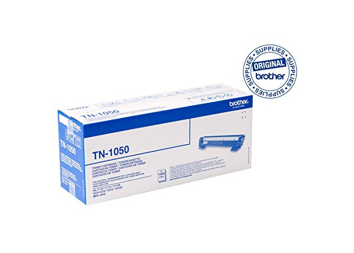 Brother TN1050 Toner Cartridge, Standard Yield, Black, Brother Genuine Supplies - 1