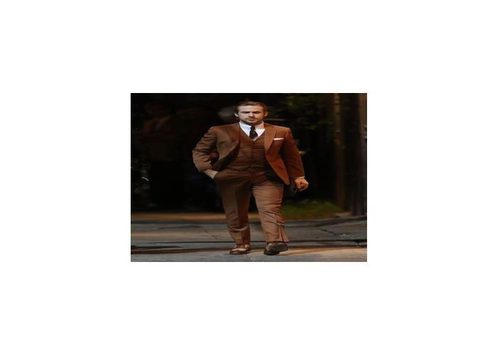 Brown suit - 1