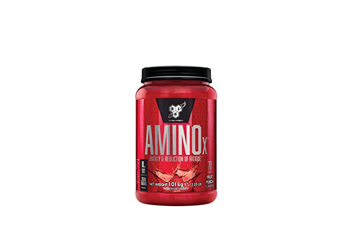 BSN Amino X Muscle Support Powder Supplement with Vitamin D, Vitamin A & Amino Acids. BCAA powder by BSN - Fruit Punch, 70 Servings, 1.01kg - 1