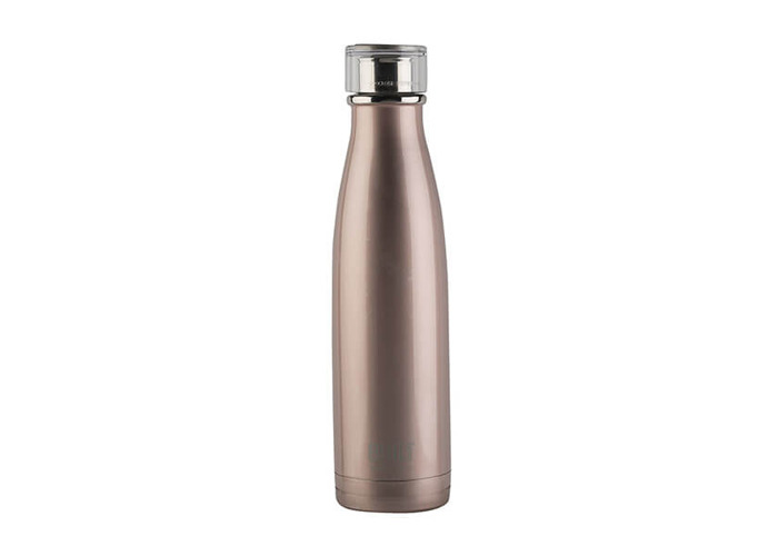 Built 483ml Double Walled Stainless Steel Water Bottle Rose Gold - 1
