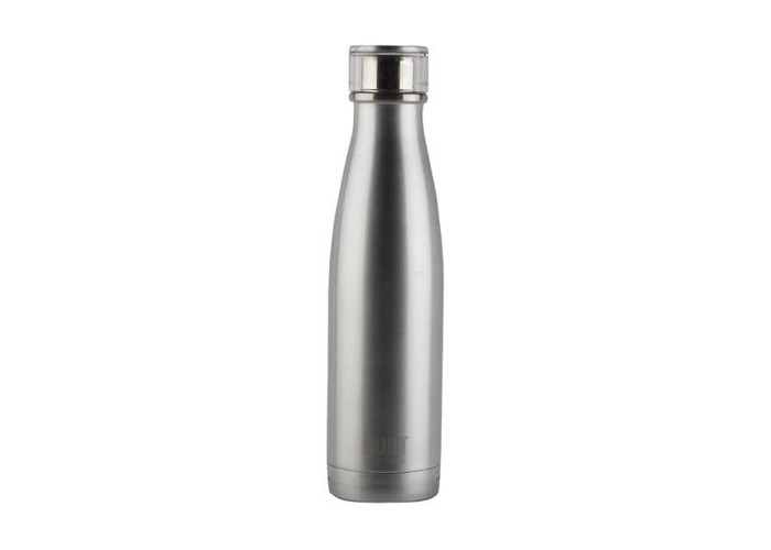 Built NY double Wall Stainless Steel Perfect Seal Water Bottle, 17 oz, Silver - 1
