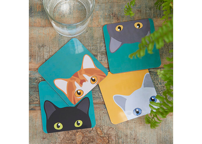 Burgon & Ball Creaturewares Doris Cat Coasters - 2