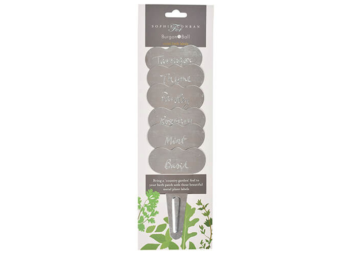 Burgon & Ball Sophie Conran Metal Herb Labels - 1