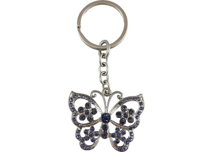 Butterfly Keyring Pink - 1