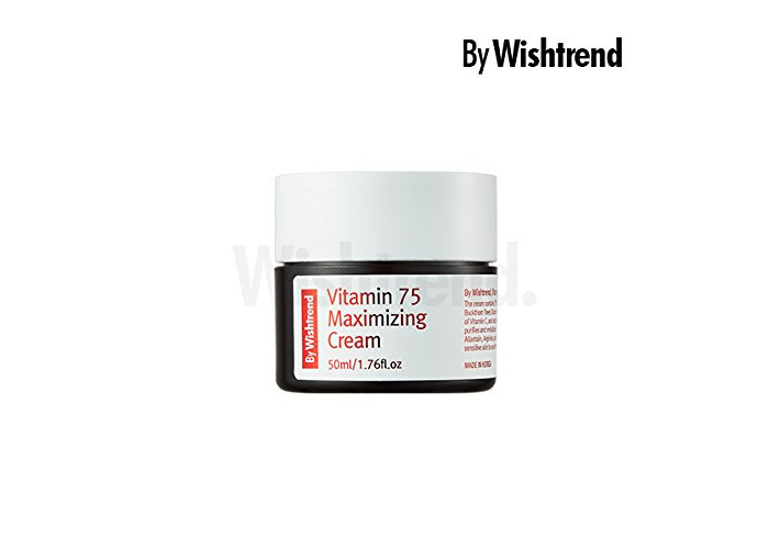 BY WISHTREND Vitamin 75 maximizing cream, 50ml, natural vitamin E,vitamin c, rejuvenating - 2