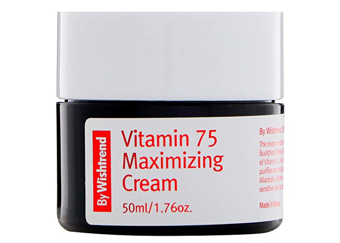 BY WISHTREND Vitamin 75 maximizing cream, 50ml, natural vitamin E,vitamin c, rejuvenating - 1