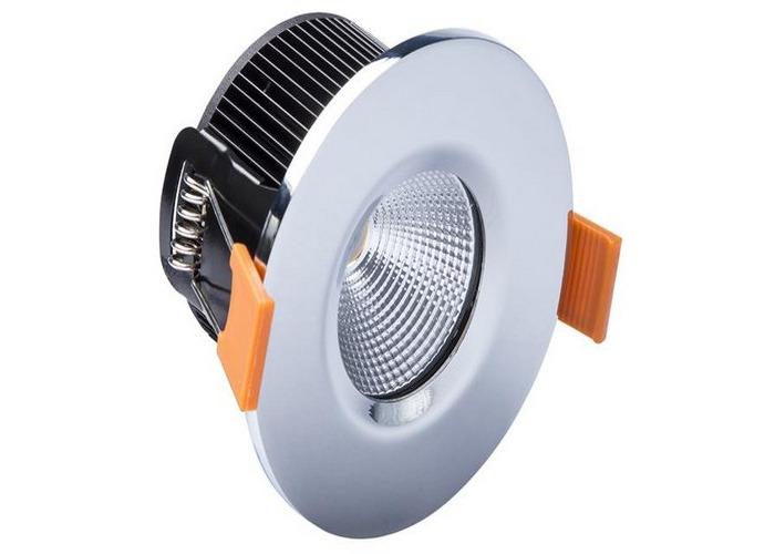 Byron BYR2000229 LED Fire Rated Downlight 4.7W Chrome 240V - 1