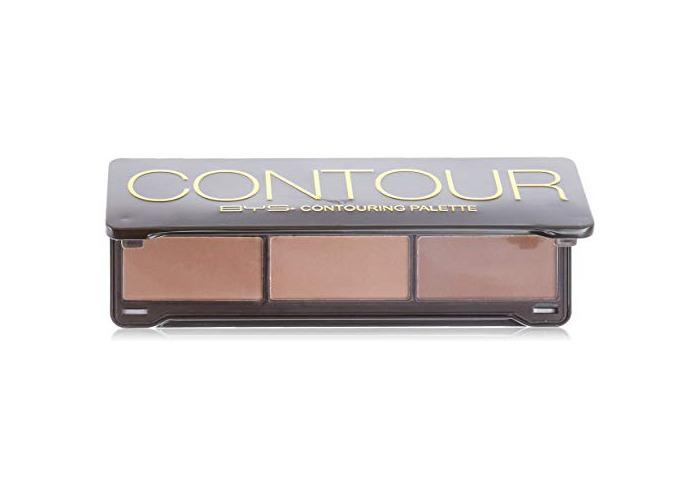 BYS Contour Palette (3x Contouring Powder, 3x Highlighting Powder) 20g/0.7oz - 1