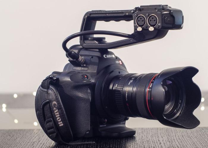 C100   Canon HD Video Camera - 1