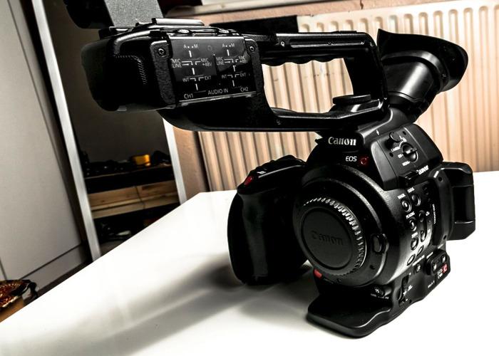 Canon C100 Mark II Camcorder in Peli Hard Case  - 1