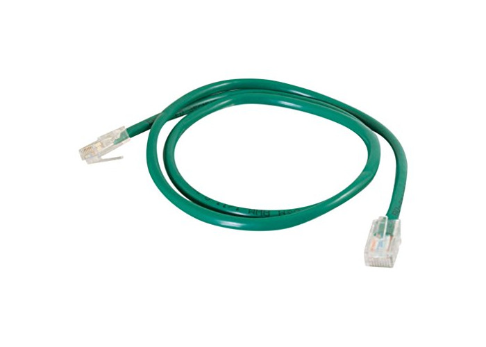 C2G 5M Cat5e Ethernet RJ45 High Speed Network Cable, LAN Lead GREEN Cat5e PVC UTP Patch Cable - 1