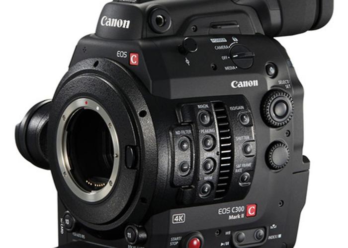 C300 Mark I camera & OPERATOR - 1