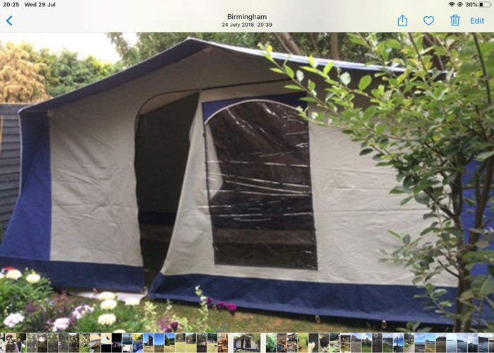 Cabanon frame tent - 1