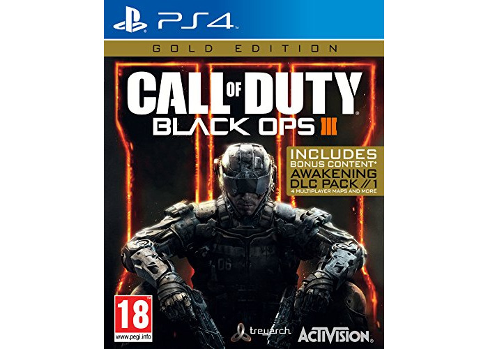 Call of Duty Black OPS III Gold Edition (PS4) [video game] - 1