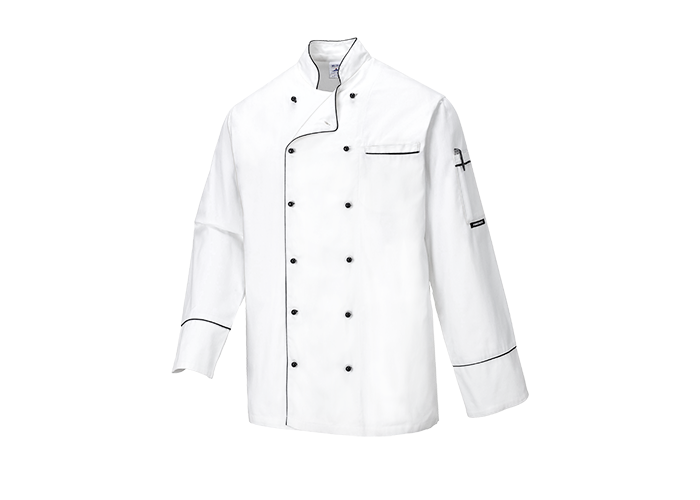 Cambridge Chef Jacket  White  Small  R - 1