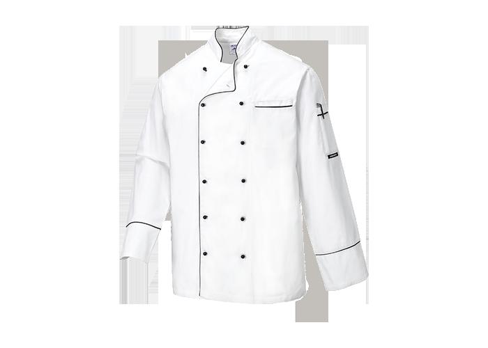 Cambridge Chef Jacket  White  XSmall  R - 1