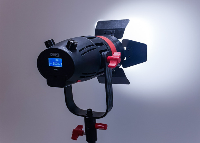 Came 55W LED Fresnel spot or softbox/ umbrella - 2