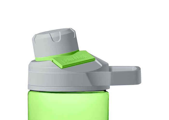 Camelbak Unisex Chute Mag Water Bottle, Lime, 600 ml - 2