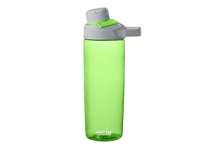 Camelbak Unisex Chute Mag Water Bottle, Lime, 600 ml - 1