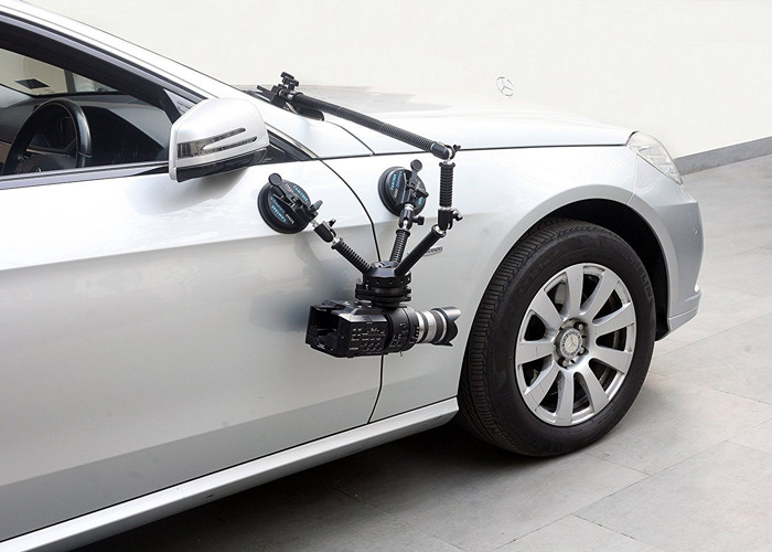 CAR MOUNT | CLAMP | SUCTION Camera kit - 2