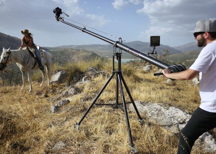 4m Camera Crane - Zolinger Studio Jib ZP2000 - 1