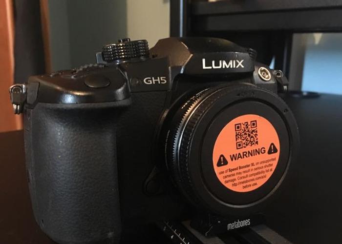 GH5 Panasonic Lumix Mirrorless Camera  - 1