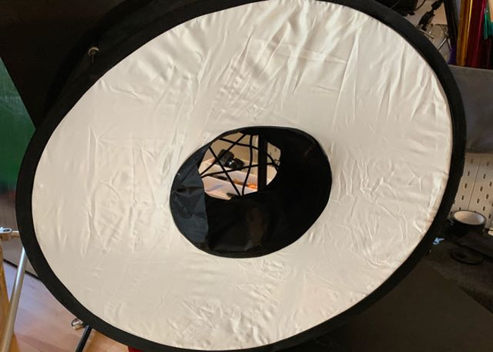 Camera flash ring light soft box - 1