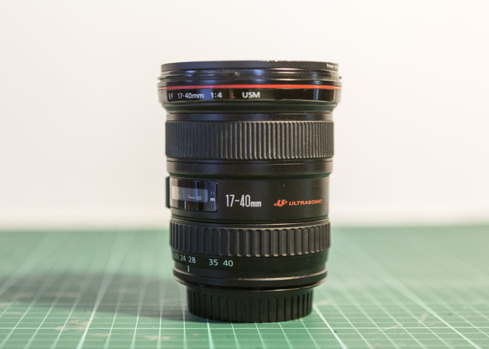 Camera Lens - Canon EF 17-40mm f/4L USM - 1
