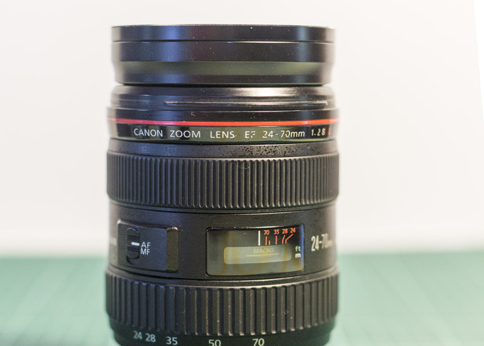 Camera Lens - Canon EF 24-70mm f/2.8L USM - 1