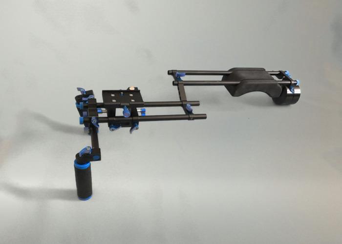 Camera Shoulder Rig (15mm Rod System) - 2