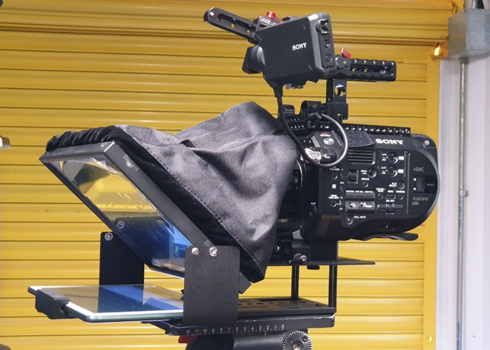 Camera Teleprompter for Ipad or Android Tablet - 1
