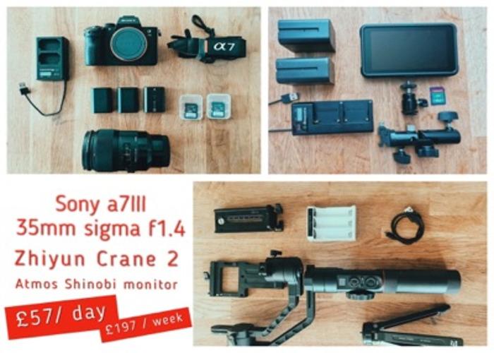 Camera with gimbal - 1