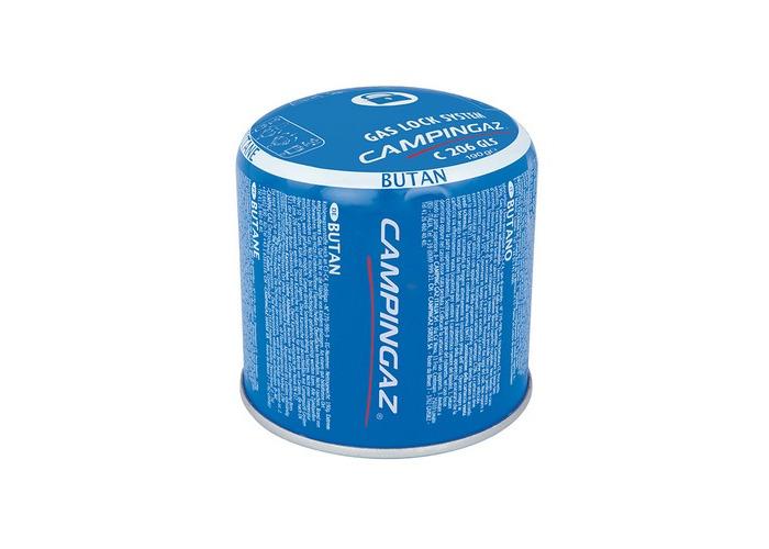 Campingaz 3000002290 C206GLS Butane Propane Gas Cartridge 190g - 1