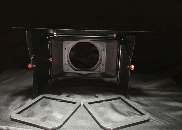 "Camtree Carbon Fiber Matte Box 4x4"" - 2"