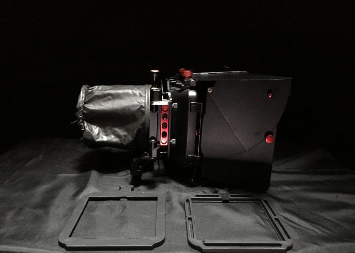 "Camtree Carbon Fiber Matte Box 4x4"" - 1"