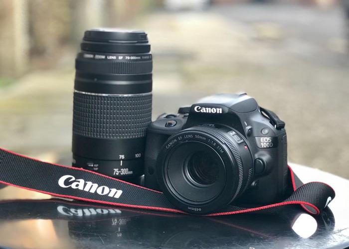 Canon 100D ( Prime 50mm) - 1