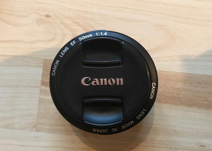 Cannon 50mm prime lens  - 1