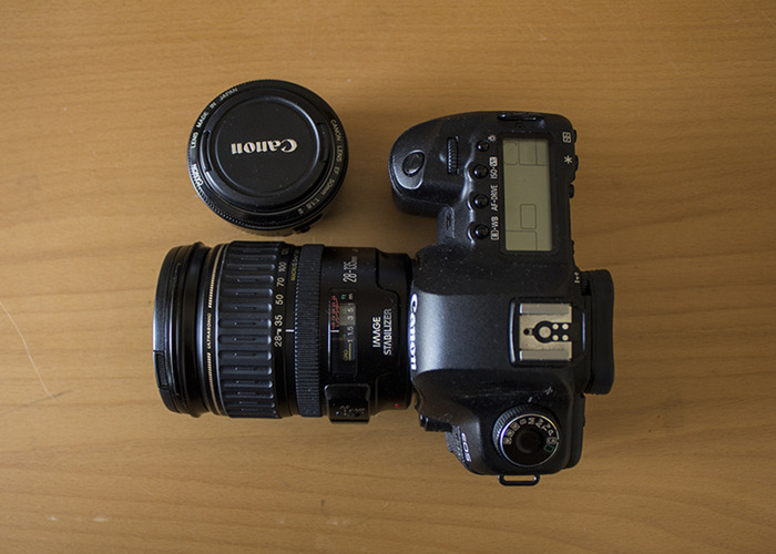 Cannon 5D MK II with 28-135mm lens and 50 mm lens - 1