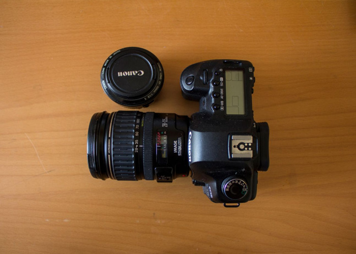 Cannon 5D MK II with 28-135mm lens and 50 mm lens - 2