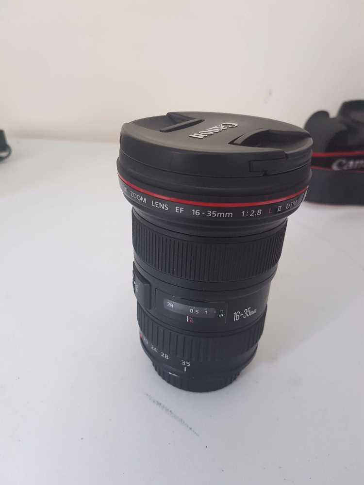 Cannon EF DSLR prime and zoom lenses - 1